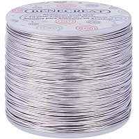 BENECREAT 20 Gauge 770FT Tarnish Resistant Jewelry Craft Wire Bendable Aluminum Sculpting Metal Wire for Jewelry Craft Beading Work - Primary Color, 0.8mm