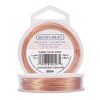 BENECREAT 20-Gauge Tarnish Resistant Copper Wire, 33-Feet/11-Yard