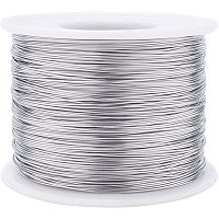 BENECREAT 24 Gauge 524FT 304 Stainless Steel Binding Wire for Jewelry Making, Strapping, Sculpture Frame, Cleaning Brushes Making and Other Crafts Project