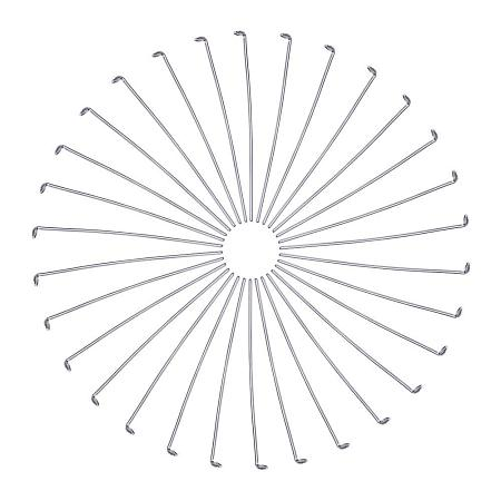 ARRICRAFT About 100pcs 35mm Stainless Steel Head Pins Findings Dressmaker Pins Jewelry Tools and Equipment for DIY Jewelry Making Sewing and Craft