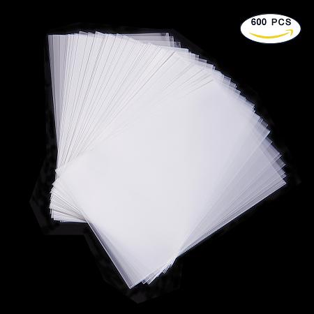 PandaHall Elite Rectangle Clear OPP Cellophane Bags Size 15x10cm Acrylic Coated Crisp Treat Bag Gift Basket Supplies, about 600pcs/bag