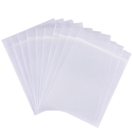 BENECREAT 200 Pack 6 Mil Clear Resalable Heavy Duty Plastic Reclosable Zipper Bags - 3