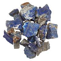 AHANDMAKER Natural Lapis Lazuli Stone, No Hole/Undrilled, Rough Raw Stone, Nuggets, 18~42x15~35x13~24mm, about 20pcs/500g; 500g