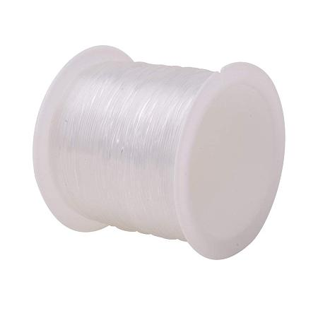 ARRICRAFT 1 Roll 20m 0.6mm Crystal Nylon Thread Fishing Line Wire for Craft Bracelet Beads