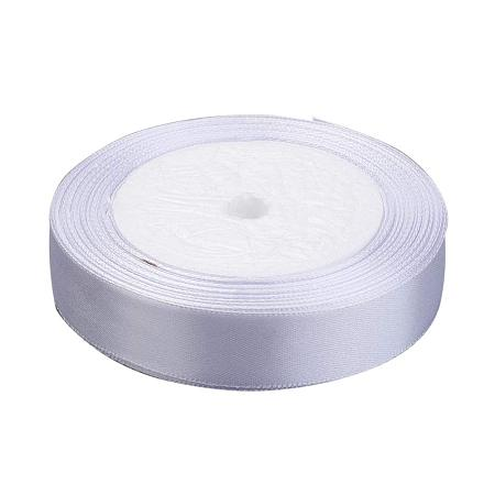 NBEADS 4 Rolls of 50mm White Satin Ribbon Decoration Ribbon for Craft Gift Packaging