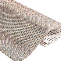 "BENECREAT 9.5"" x 15.5"" Self Adhesive Crystal AB Rhinestone Sticker Sheets for Crafts, Gift Decoration, Phone Decoration, Event Embellishments with 2mm Rhinestones"