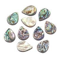 ARRICRAFT 10 pcs Drop Shape Abalone Shell/Paua Shell Beads for Earring Bracelet Necklace Jewelry Making, Colorful