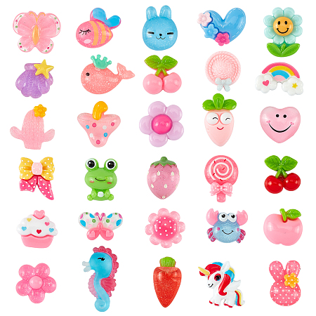 SUPERFINDINGS Spray Painted Iron Snap Hair Clips, with Enamel, Mixed Color, 140pcs/box