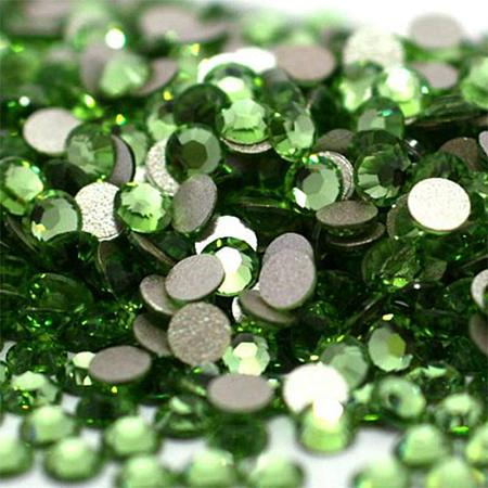 NBEADS About 1440pcs/bag Period Glass Flat Back Rhinestone, Half Round Grade A Back Plated Faceted Gems Stones, 2.7~2.8mm
