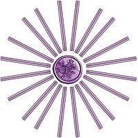 Craspire Glue Gun Sealing Wax Sticks, for Glue Gun Wax Seal Stamp, Purple, 135x11mm