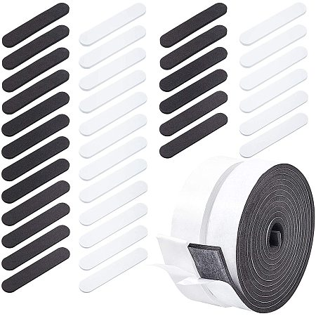 PandaHall 18 Pieces Hat Size Tape Hat Size Reducer with 2pcs Foam Reducing Tape Roll Self Adhesive for Hat Cap
