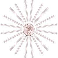Craspire Glue Gun Sealing Wax Sticks, for Glue Gun Wax Seal Stamp, Thistle, 135x11mm