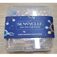 SUNNYCLUE DIY Dangle Earring Making Kits, include Alloy Pendants, Brass Links Connectors & Earring Hooks, Zinc Alloy Links, Freshwater Shell & Glass Pearl Beads, Golden