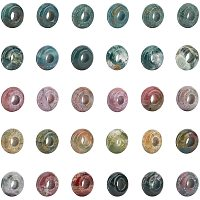 Natural Indian Agate European Beads, Large Hole Beads, Rondelle, 10x4.5mm, Hole: 4mm, 30pcs/box