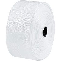 OLYCRAFT 54 Yard Fiberglass Cloth Tapes 1.8 Inch Wide Glass Fiber Mesh Joint Tape Plain Weave Reinforcement Heat-Resistance and Insulation- White