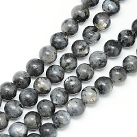 ARRICRAFT Natural Labradorite Bead Strands, Round, 6mm, Hole: 1mm, about 65pcs/strand, 15.7 inches