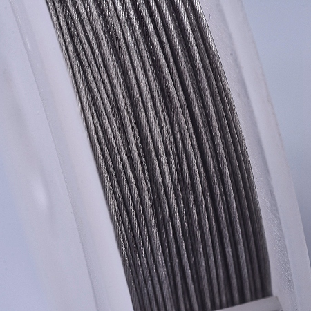 ARRICRAFT Tiger Tail Wire, Steel Wire, Stainless Steel Color, 0.5mm, about 15m/roll
