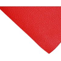 BENECREAT 12x24 Inches Adhesive Leather Repair Patch for Sofa Couch Car Seat Furniture (Red, 0.8mm Thick)
