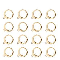 ARRICRAFT 304 Stainless Steel Lever Back Earring Hooks 14.5x12mm for Jewelry Making, 100pcs in total