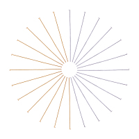 Arricraft 200 pcs 2 Colors 2 Inch 304 Stainless Steel Head Pin Findings for Earring Pendant Jewelry Making, Golden/Silver