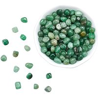 ARRICRAFT Natural Green Aventurine Bead Strands, Nuggets, 5~7x5~7mm, Hole: 1mm, 15.7 inches(39.88cm); 4strands/box