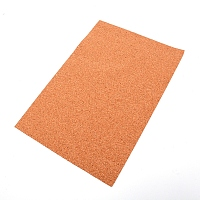 Cork Insulation Sheets, with Adhesive, Rectangle, BurlyWood, 29.7x21x0.1cm